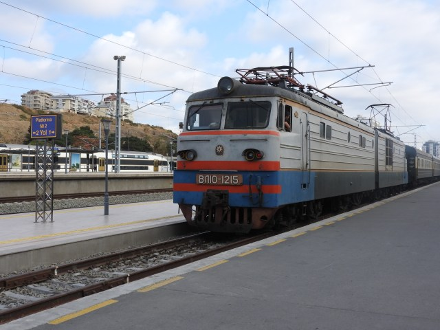 Tbilisi to Baku Train