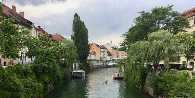 Ljubljanica, Ljubljana, Slovenia