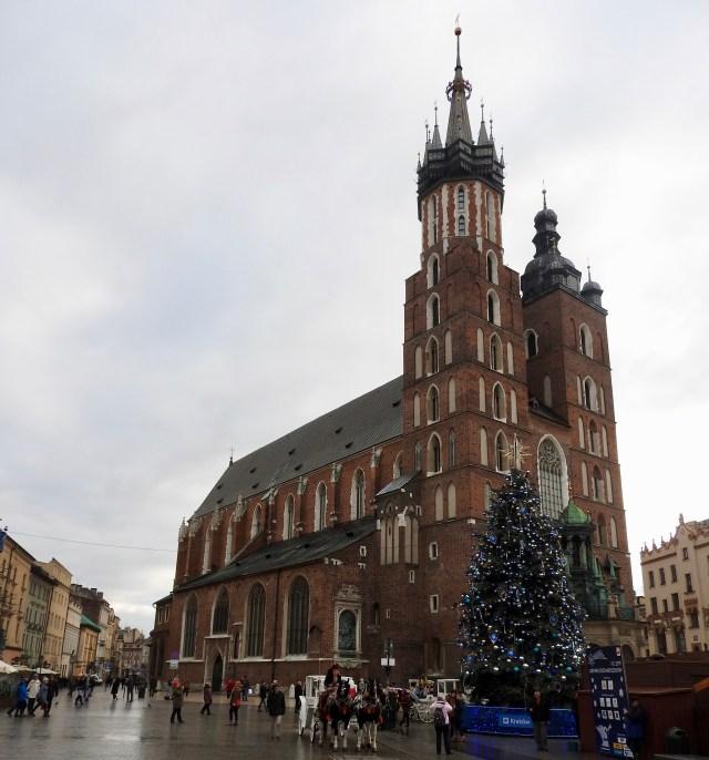 St Mary's Basilica, Krakow, Poland