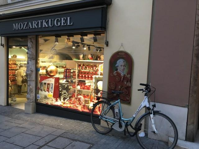 Mozart Chocolate Shop, Salzburg