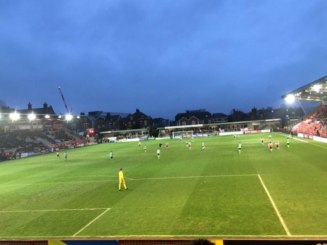 Exeter City v Walsall