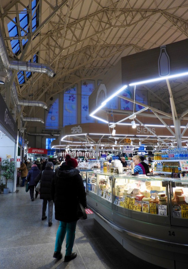Riga Central Market Interior