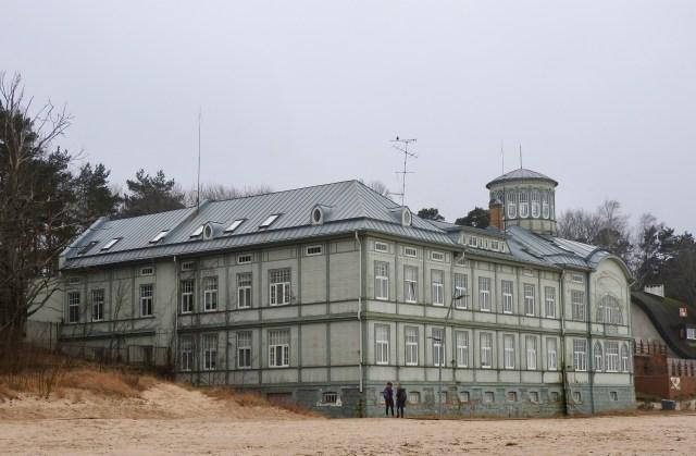 Beachfront Building, Majori, Latvia