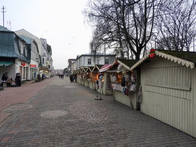 Majori High Street, Latvia
