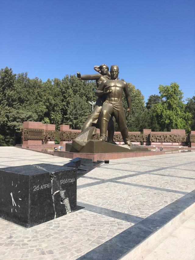 Earthquake Memorial, Tashkent, Uzbekistan
