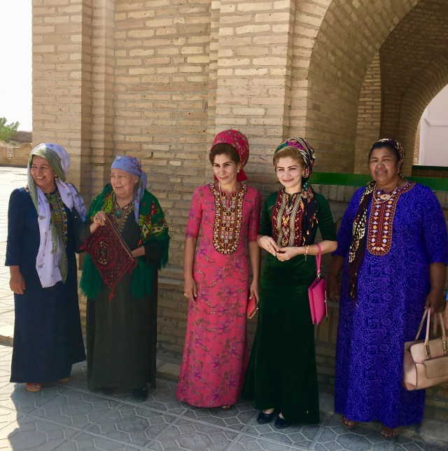 Lady Pilgrims, Ancient Merv, Turkmenistan