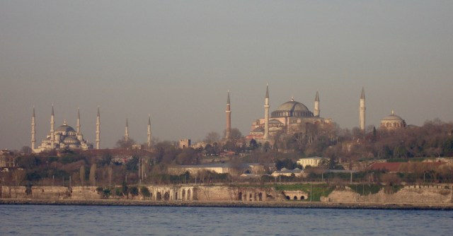 Istanbul Skyline from the Bosphorus