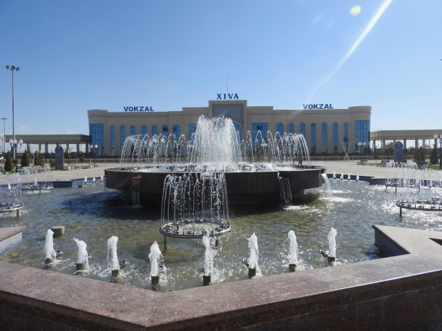 Khiva Train Station