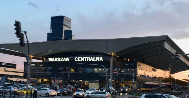 Warsaw Central Train Station
