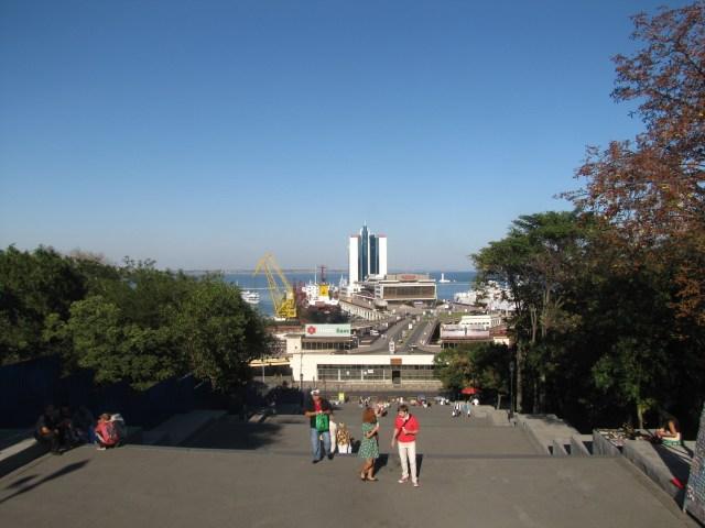 Potemkin Steps Looking Down, Odessa