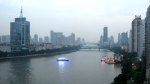 Pearl River, Guangzhou, China