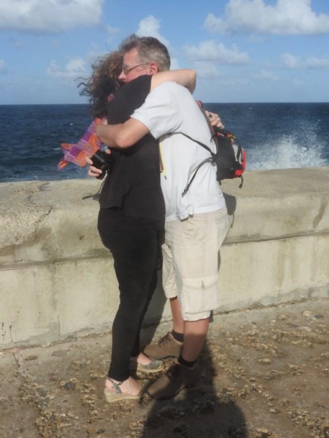 Havana Hug, The Malecon, Havana, Cuba