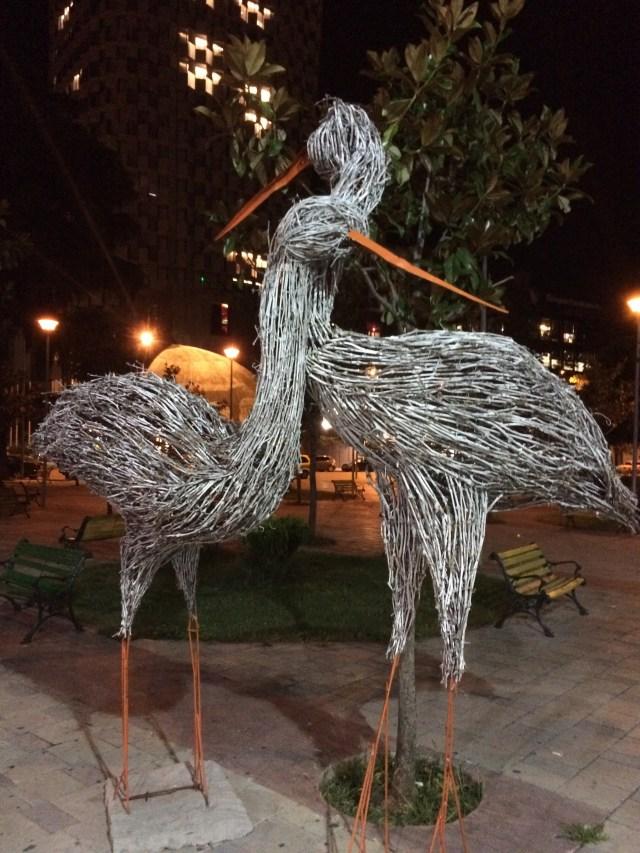 Avian Sculpture, Tirana, Albania