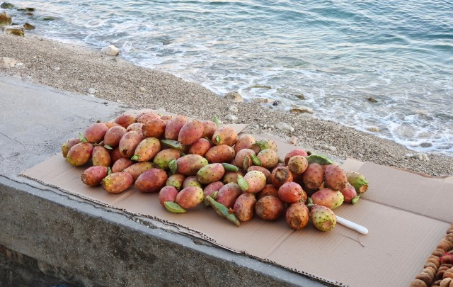 Prickly Pears For Sale, Sarande, Albania