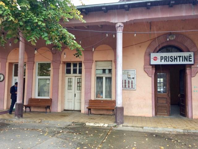 Pristina Train Station
