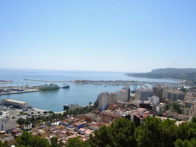 View of Denia, Spain