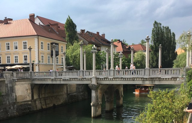 Cobblers Bridge, Ljubljana