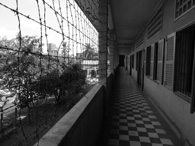 Tuol Sleng Cell Block, Phnom Penh, Cambodia