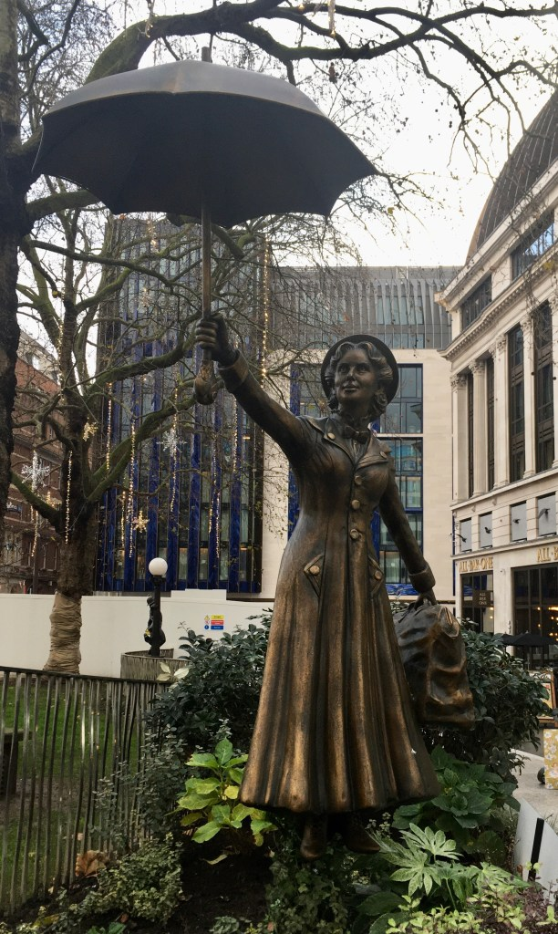 Mary Poppins statue, Leicester Square, London