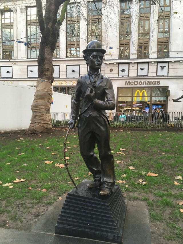 Charlie Chaplin statue, Leicester Square, London