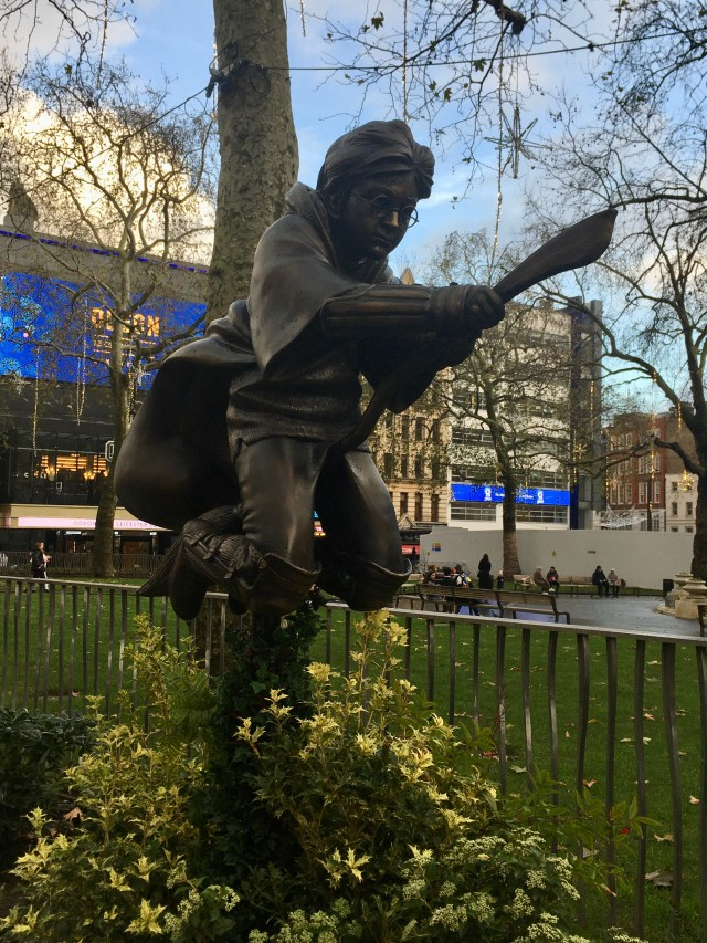 Harry Potter statue, Leicester Square, London