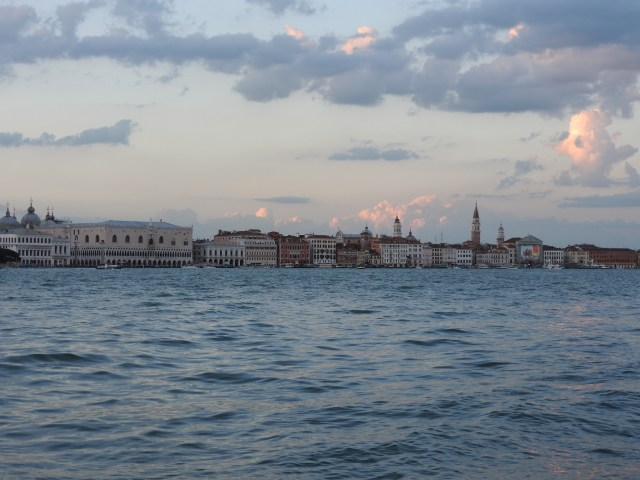 Doges Palace (Palazzo Ducale), Venice, Italy From Across The Grand Canal
