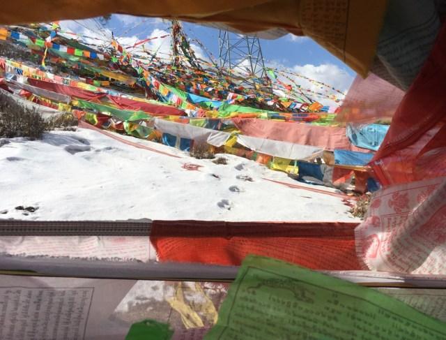 Thanga Prayer Flags, China
