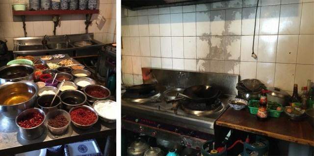 Tibetan Restaurant Kitchen, Aba
