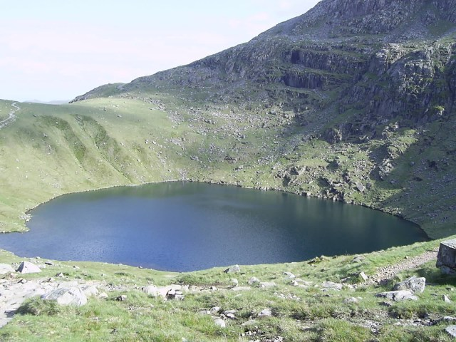Mountain Lake, Scafell Pike, England