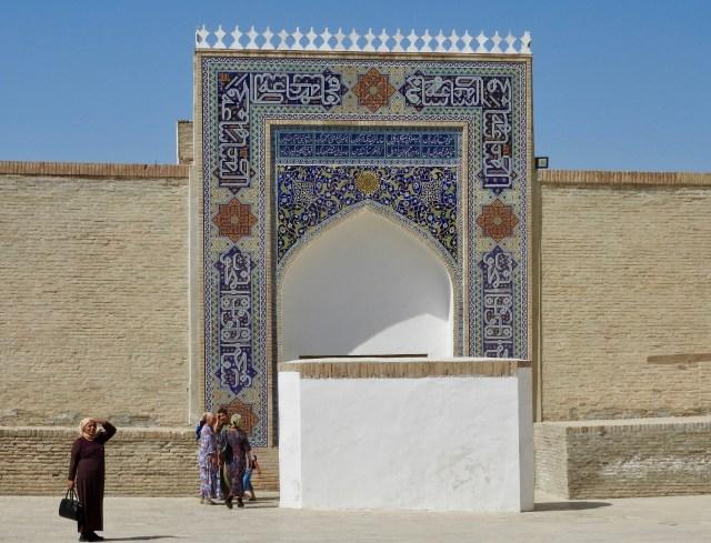 Entrance, The Ark, Bukhara, Uzbekistan