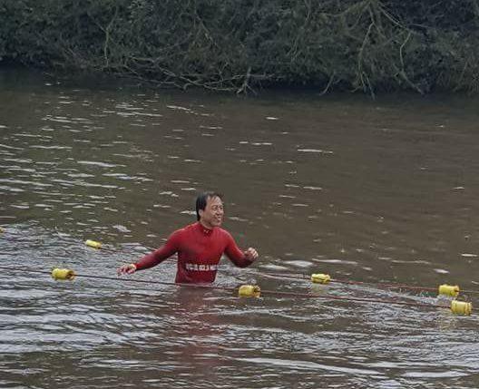 X-Runner Wild Mud Run - Water Crossing