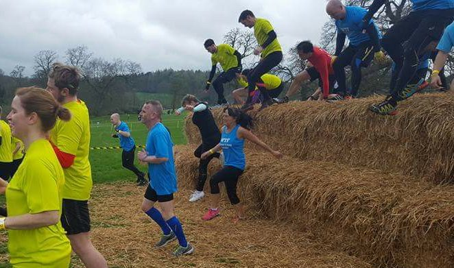 X-Runner Wild Mud Run - Hay Bales