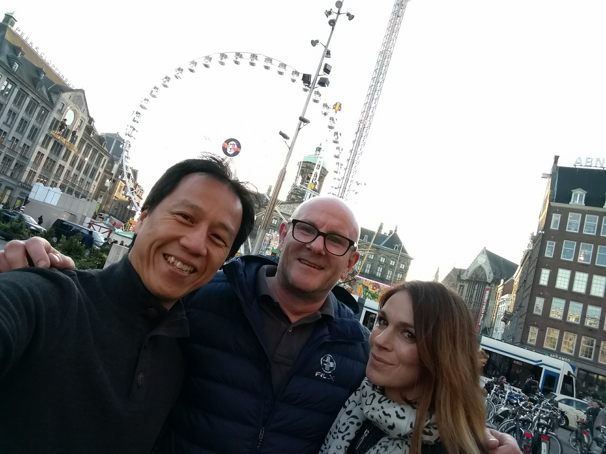Tourists at Dam Square