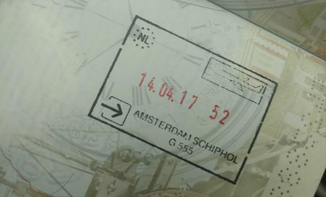 Netherlands stamp