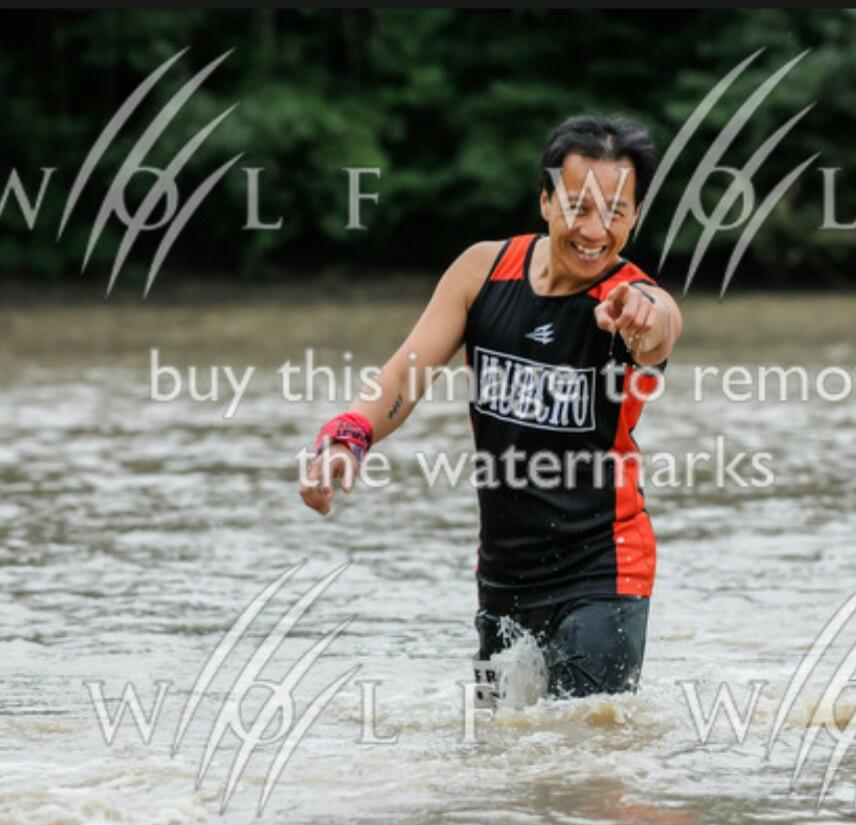 Wolf Run Lake wade