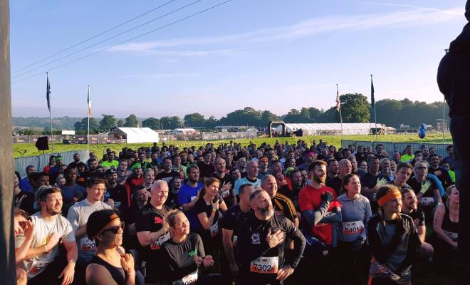 Tough Mudder London South Start Line Pledge