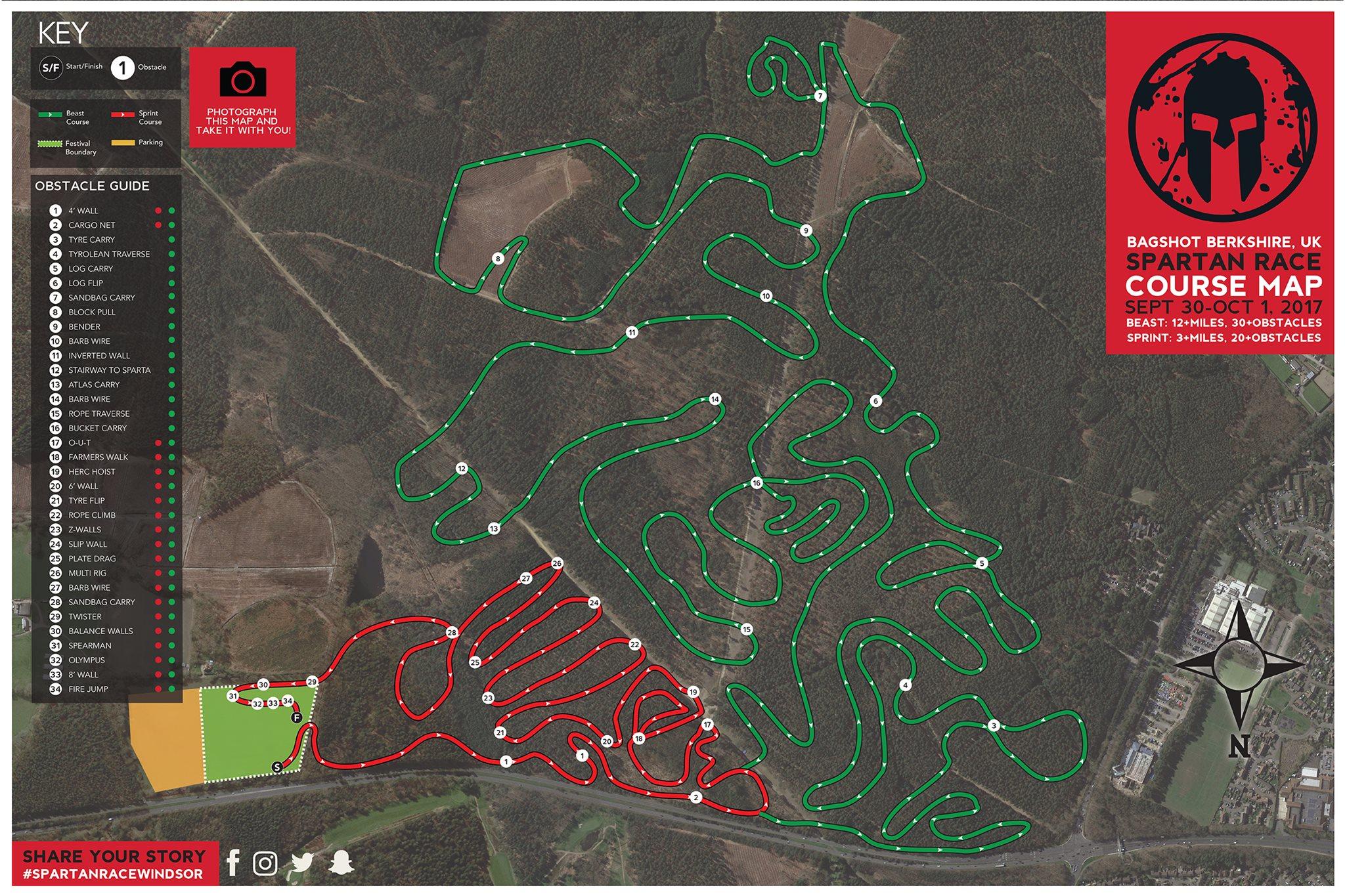 Spartan Windsor Course Map