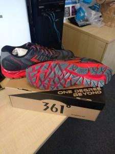 361° Ortega 2 Trail Shoes box