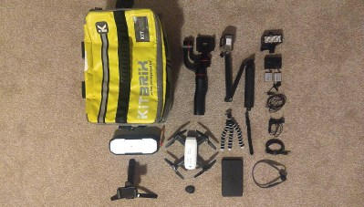 wil chung whats in my gadget bag