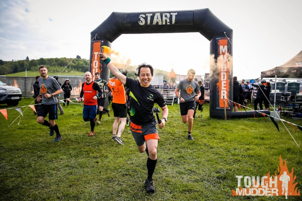 Start Line at Tough Mudder