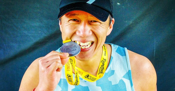RatRace Runstock 2019 Wil Chung finisher
