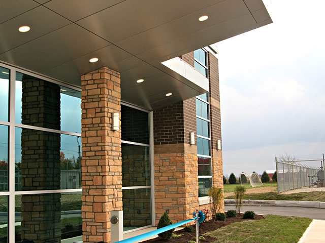 medical building front entrance