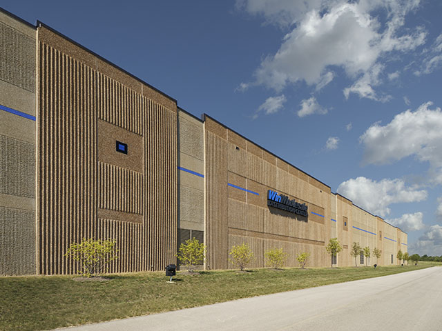 distribution center precast concrete
