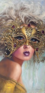 The Golden MaskM - GICLEES AVAILABLE copy