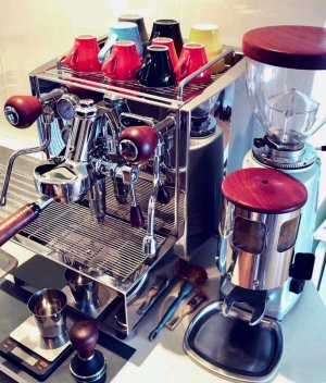 Alex Duetto v3 Custom Coffee Parts