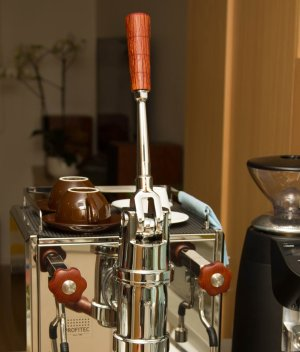 Profitec Pro 800 Custom Wilcox Handmade Sheoak Coffee Parts