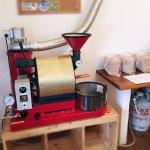 兵庫県姫路市にナナハン焙煎機を設置しました。