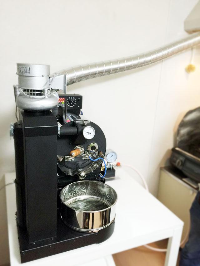 神奈川県横浜市にアポロ焙煎機を設置しました。