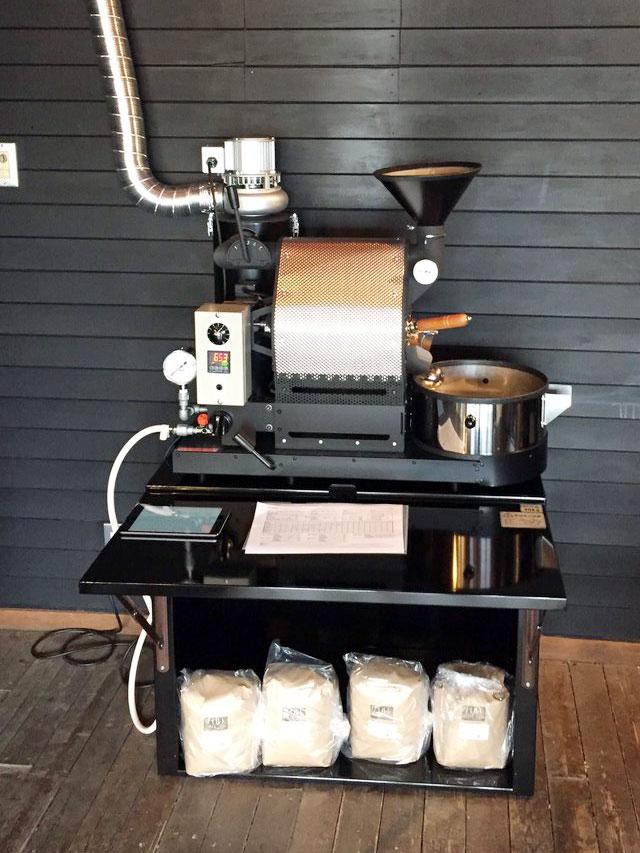 奈良県葛城市にナナハン焙煎機を設置しました。