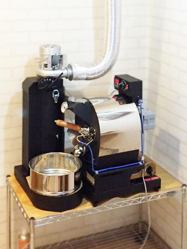 広島県広島市にアポロ焙煎機を設置しました。